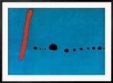Azul II Láminas por Joan Miró