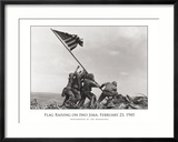 Flag Raising on Iwo Jima, c.1945 Poster by Joe Rosenthal