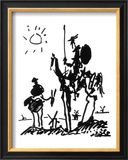 Don Quixote, ca. 1955 Poster av Pablo Picasso