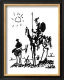 Don Quijote, c.1955 Lámina por Pablo Picasso