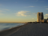 Miami Beach at Twilight Photographic Print by Raul Touzon