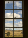 Looking Out from the Interior of the Wedderburn Train Depot Photographic Print by Bill Hatcher
