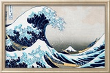 The Great Wave at Kanagawa (from 36 views of Mount Fuji), c.1829 Prints by Katsushika Hokusai