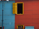 A Building in the La Boca Neighborhood of Buenos Aires Photographic Print by Michael S. Lewis