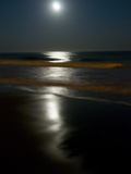 Blood Moon over Wrightsville Beach Photographic Print by Brian Gordon Green