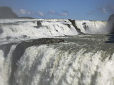 A Detail of Gullfoss Falls, Near Reykjavik, Iceland Photographic Print by Nigel Hicks