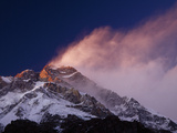 Nanga Parbat and Cloud Created by Windswept Snow, Blow Off the Summit Photographic Print by Tommy Heinrich