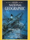 Cover of the April, 1988 National Geographic Magazine Reproduction photographique par David Doubilet