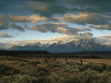 Sunlight on Mountains in Grand Teton National Park in Wyoming Photographic Print by Aaron Huey