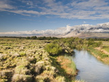 A River Running Through a Pastoral Valley Photographic Print by James Forte