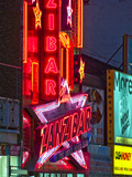Neon Lights on the Zanzibar Club on Yonge Street Photographic Print by Richard Hewitt Nowitz