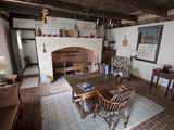 The Cooking Kitchen of a Historic Colonial Home Photographic Print by Greg Dale