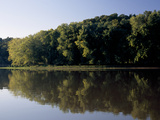 Scenic View of the Cumberland River and Trees Along the Shore Fotografisk tryk af Raymond Gehman