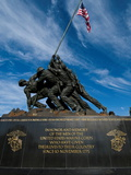 The Iwo Jima Memorial, at Arlington, Virginia Photographic Print by Brian Gordon Green