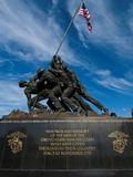 The Iwo Jima Memorial, at Arlington, Virginia Photographic Print by Brian Gordon Green