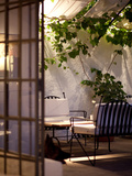 The Patio at a Fine Hotel and Winery in Mendoza Photographic Print by Michael S. Lewis