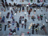 Worshippers Pray at the Jokhang Temple Photographic Print by Michael S. Yamashita