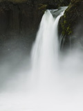 A Detail of Godafoss Falls, Near Lake Myvatn, Iceland Photographic Print by Nigel Hicks