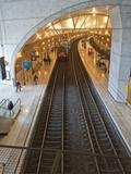 The Train Station in Monaco Reproduction photographique par Greg Dale