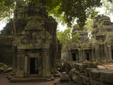 Abandoned Buildings in the Angkor Wat Temple Complex Photographic Print by Karen Kasmauski