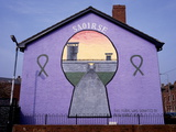 A Republican Political Mural in Belfast, Northern Ireland Photographic Print by Chris Hill