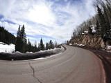 The Winding Road to Ski Basin Photographic Print by Raul Touzon