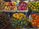 Colorful Fruit in a Cambodian Street Market Photographic Print by Karen Kasmauski