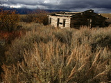 A Cabin in Grand Teton National Park Photographic Print by Aaron Huey