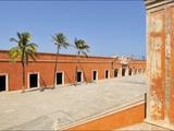 The 18th Century Fort of San Juan De Ulua Building in Veracruz Harbor Photographic Print by Steve Raymer