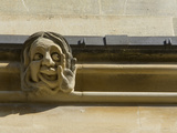 Sandstone Sculpture of a Funny Face, on the Wall of a Building Photographic Print by Joe Petersburger