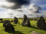 Beaghmore Stone Circles in County Tyrone, Northern Ireland Photographic Print by Chris Hill