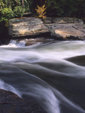 Water Rushing over Rocks in the Youghiogheny River Photographic Print by Bates Littlehales