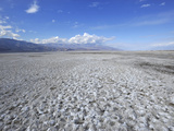 Salt Flats in Death Valley Photographic Print by Raul Touzon