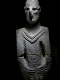 A Life-Size Depiction of a Human Found Nine Miles from Gobekli Tepe Photographic Print by Vincent J. Musi