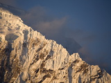 A Snow Covered Ridge on Salcantay Peak Photographic Print by Aaron Huey