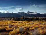 Grand Teton National Park in Autumn Photographic Print by Aaron Huey