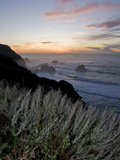 Sunset on California's Big Sur Coast Photographic Print by Brian Gordon Green