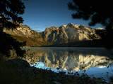 Mountains Reflected in Phelps Lake in Grand Teton National Park Photographic Print by Aaron Huey
