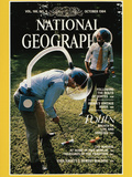 Cover of the August, 1984 Issue of National Geographic Magazine Photographic Print by Martha Cooper