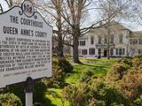 The Queen Anne's County Courthouse Building in Centreville, Maryland Photographic Print by Greg Dale