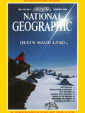 Cover of the February, 1998 Issue of National Geographic Magazine Photographic Print by Gordon Wiltsie