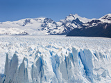 Massive Ice Towers on the Leading Edge of Perito Moreno Glacier Photographic Print by Mike Theiss