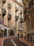 Side Street in Monaco, French Riviera, Cote D' Azure Reproduction photographique par Greg Dale