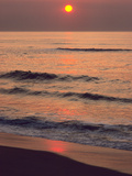Sunrise over the Atlantic Ocean at Assateague Island Photographic Print by Bates Littlehales