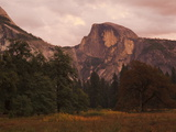 Half Dome Mountain at Dusk Photographic Print by Mikey Schaefer