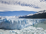 The Massive Perito Moreno Glacier Wall and Ice That Broke Off of It Photographic Print by Mike Theiss