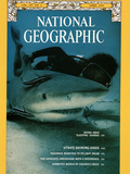 Cover of the April, 1975 National Geographic Magazine Fotografie-Druck von David Doubilet