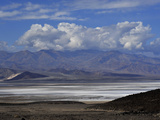 Salt Flats from Artists Drive in Death Valley Photographic Print by Raul Touzon