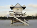 A Lifeguard Stand Photographic Print by Raul Touzon