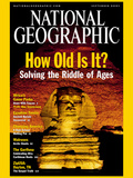 Cover of the September, 2001 Issue of National Geographic Magazine Photographic Print by Bill Ellzey